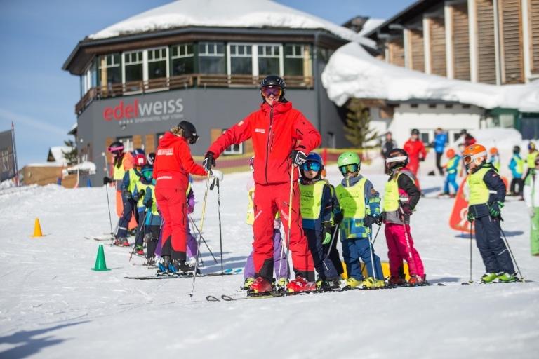 Kinderskikurs Skischule Frau Holle Obertauern